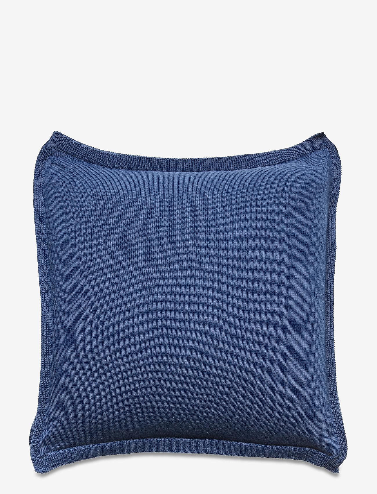 GANT - TRELL KNIT CUSHION COVER - poduszki ozdobne - insignia blue - 1