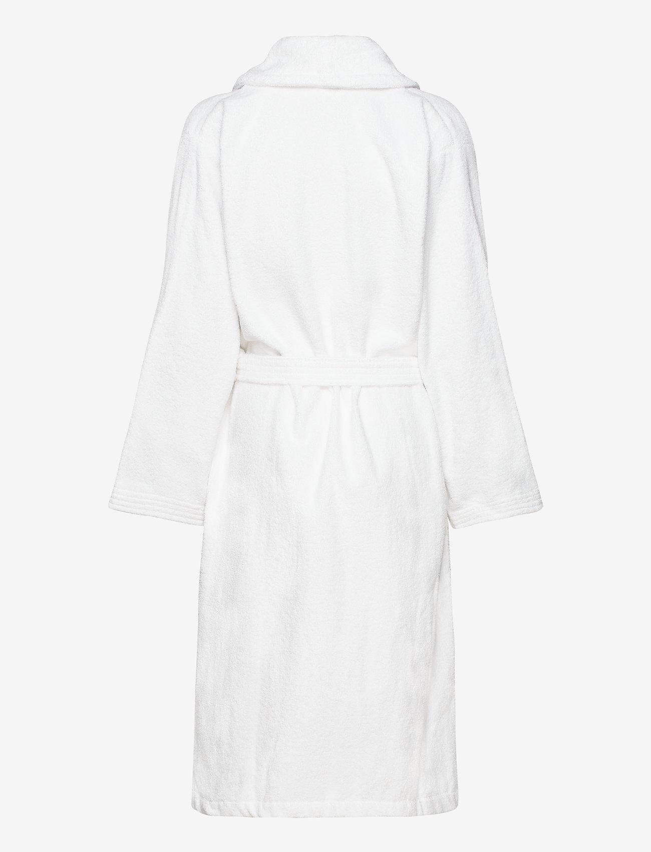 Gant - TERRY BATHROBE - bathrobes - white