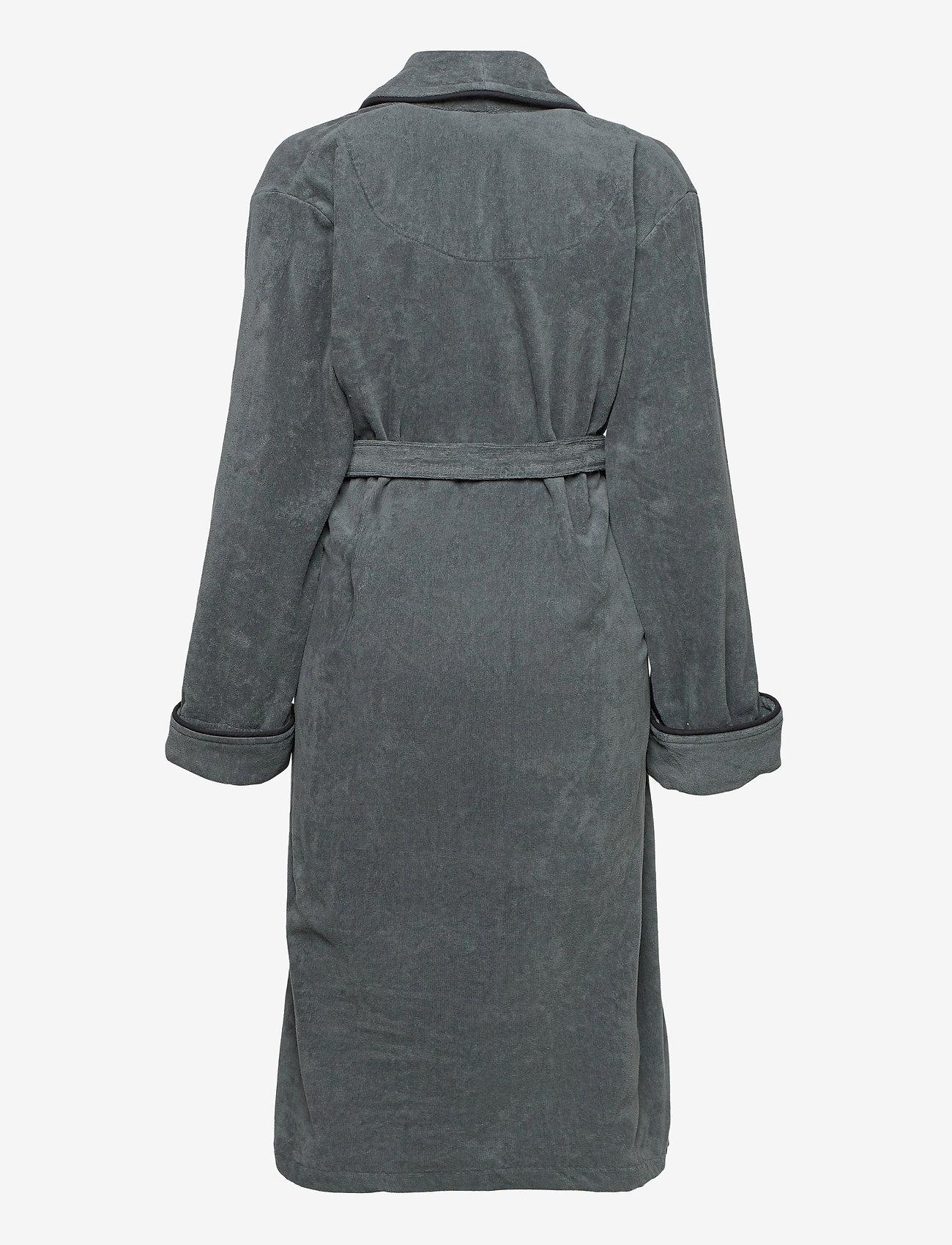 GANT - ORGANIC PREMIUM  ROBE - bathrobes - antracite - 1