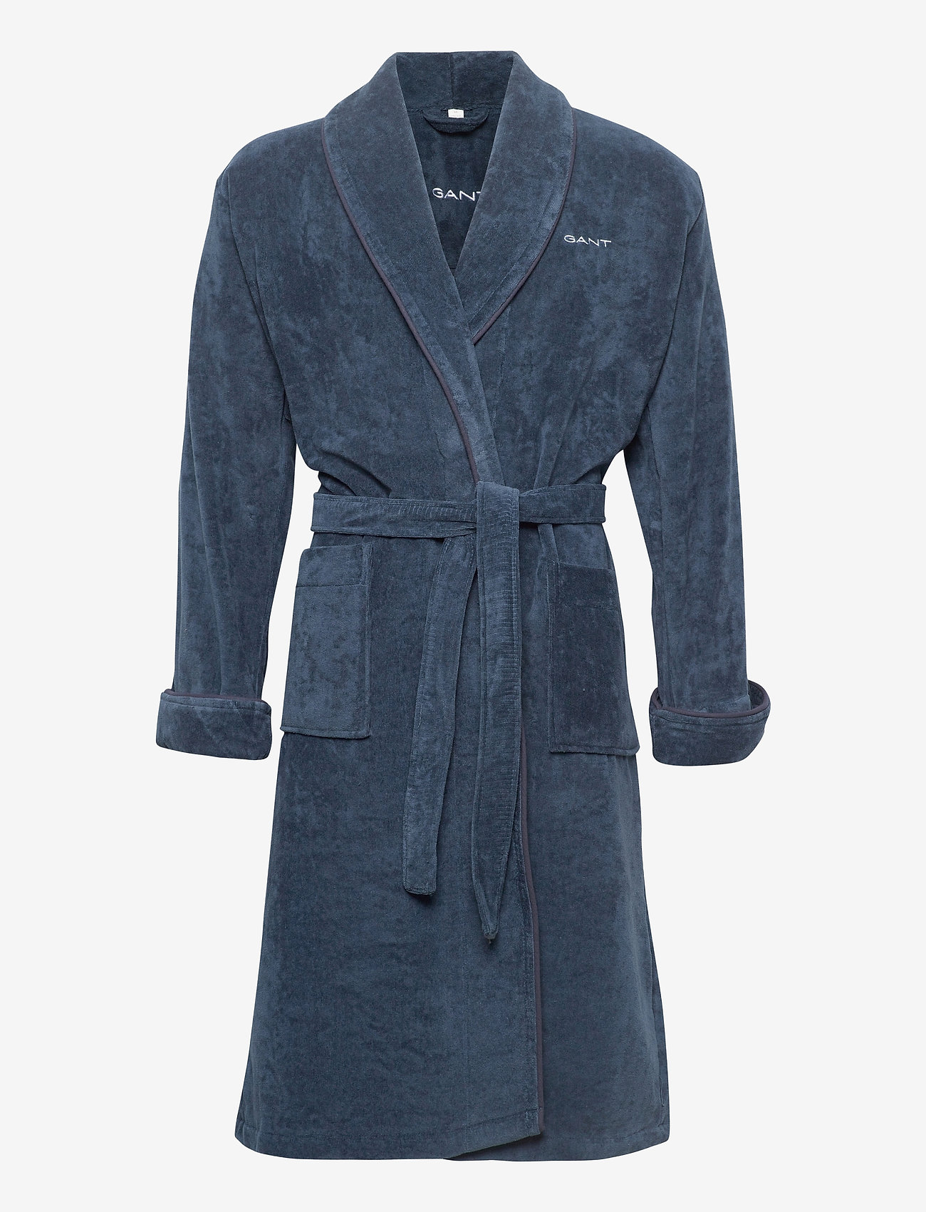 GANT - ORGANIC PREMIUM  ROBE - bathrobes - sateen blue - 0