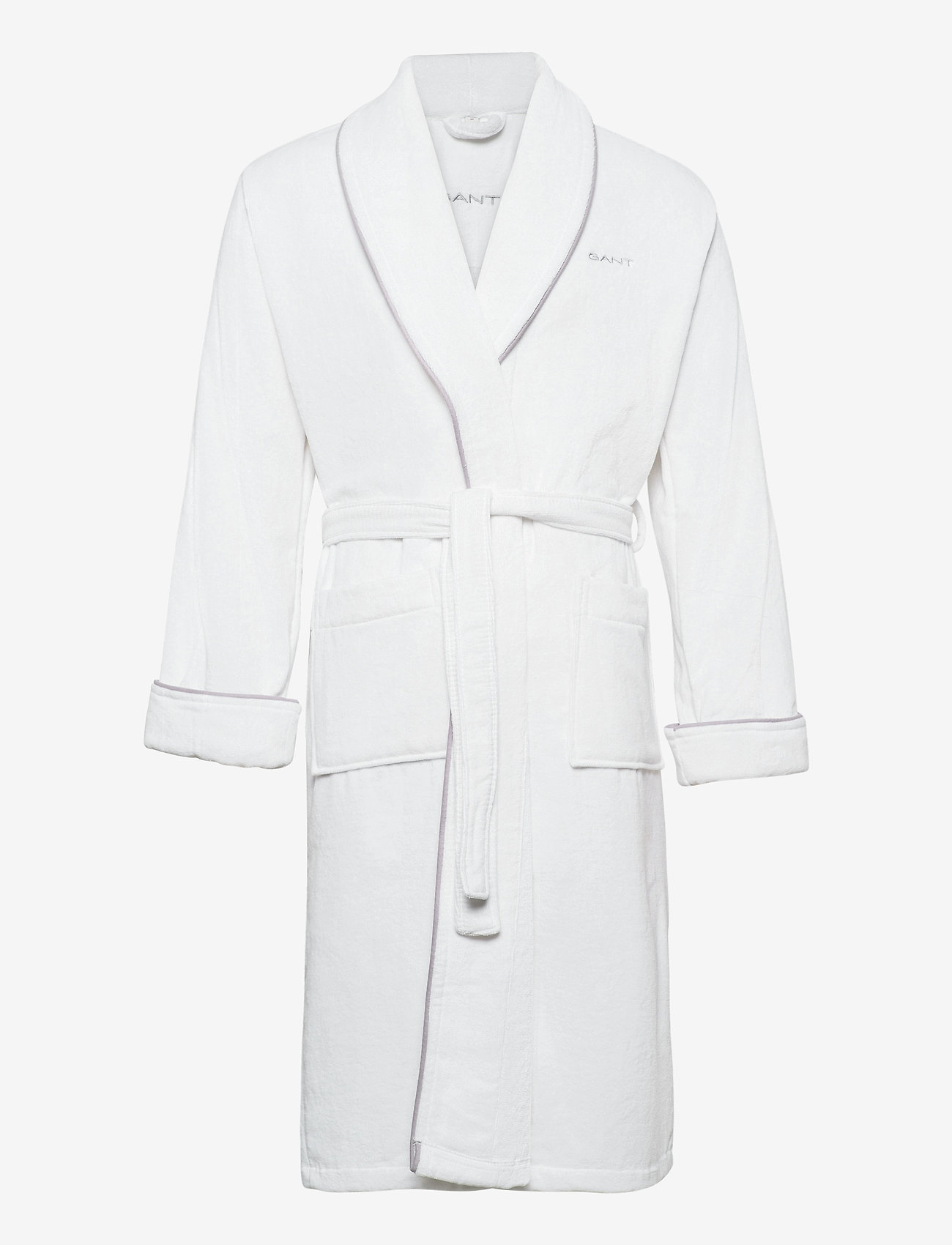 GANT - ORGANIC PREMIUM  ROBE - bathrobes - white - 0