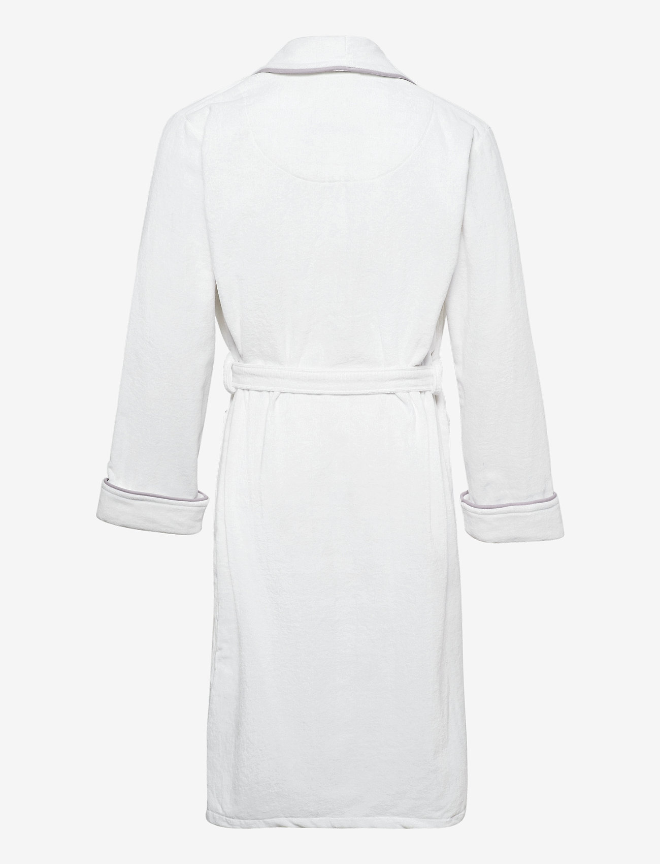 GANT - ORGANIC PREMIUM  ROBE - bathrobes - white - 1