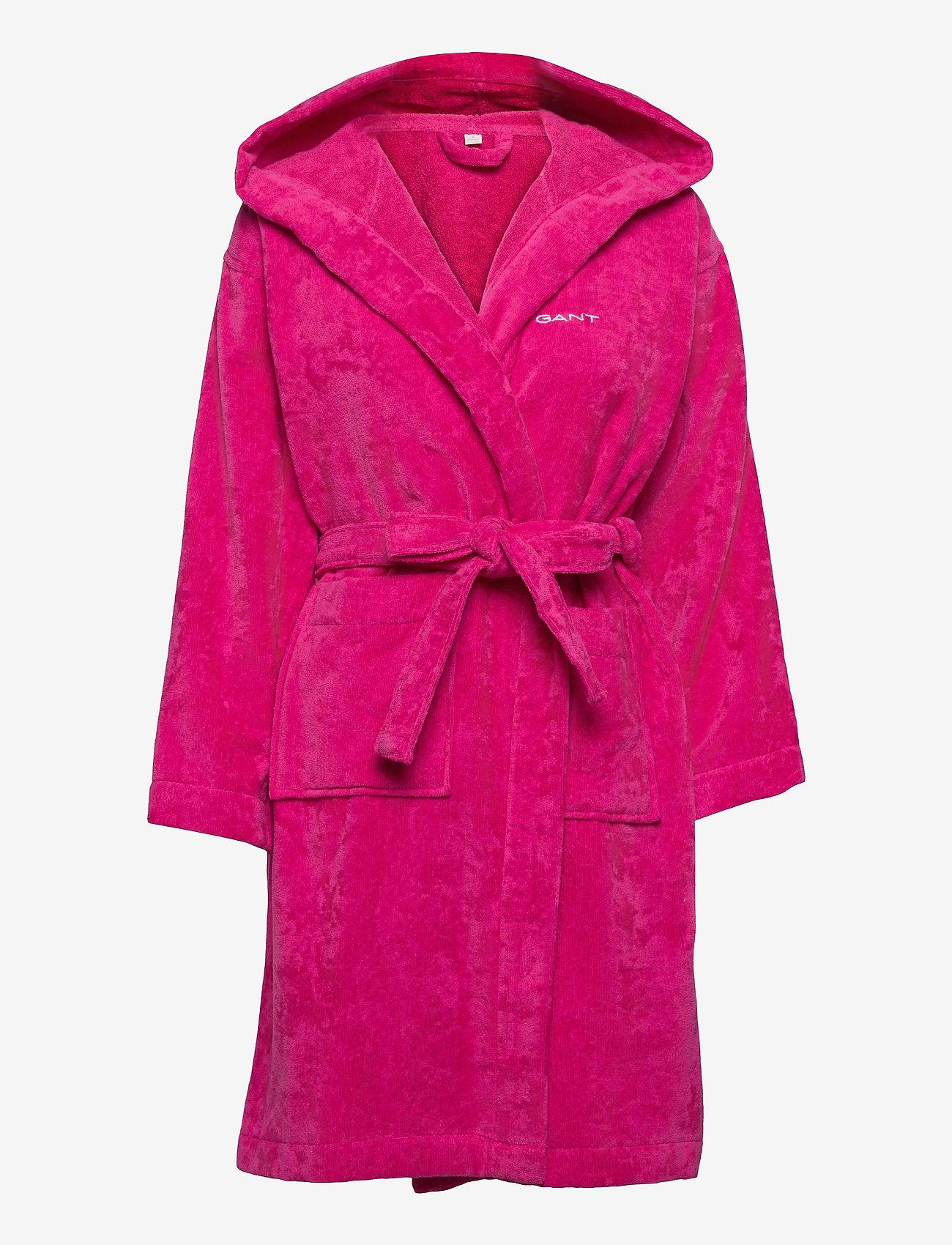 GANT - VACAY ROBE - sous-vêtements - cabaret pink - 0