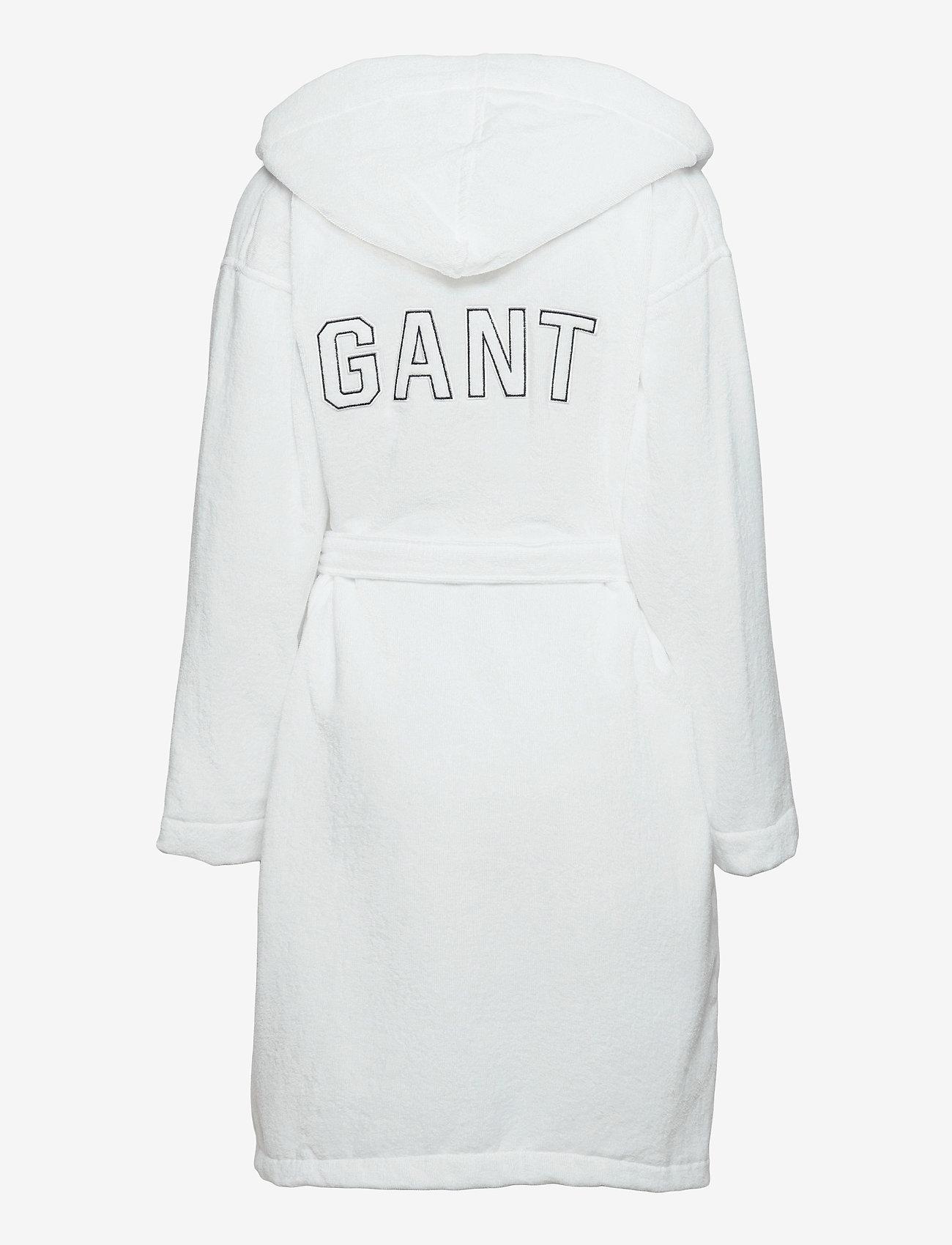 GANT - VACAY ROBE - underwear - white - 1
