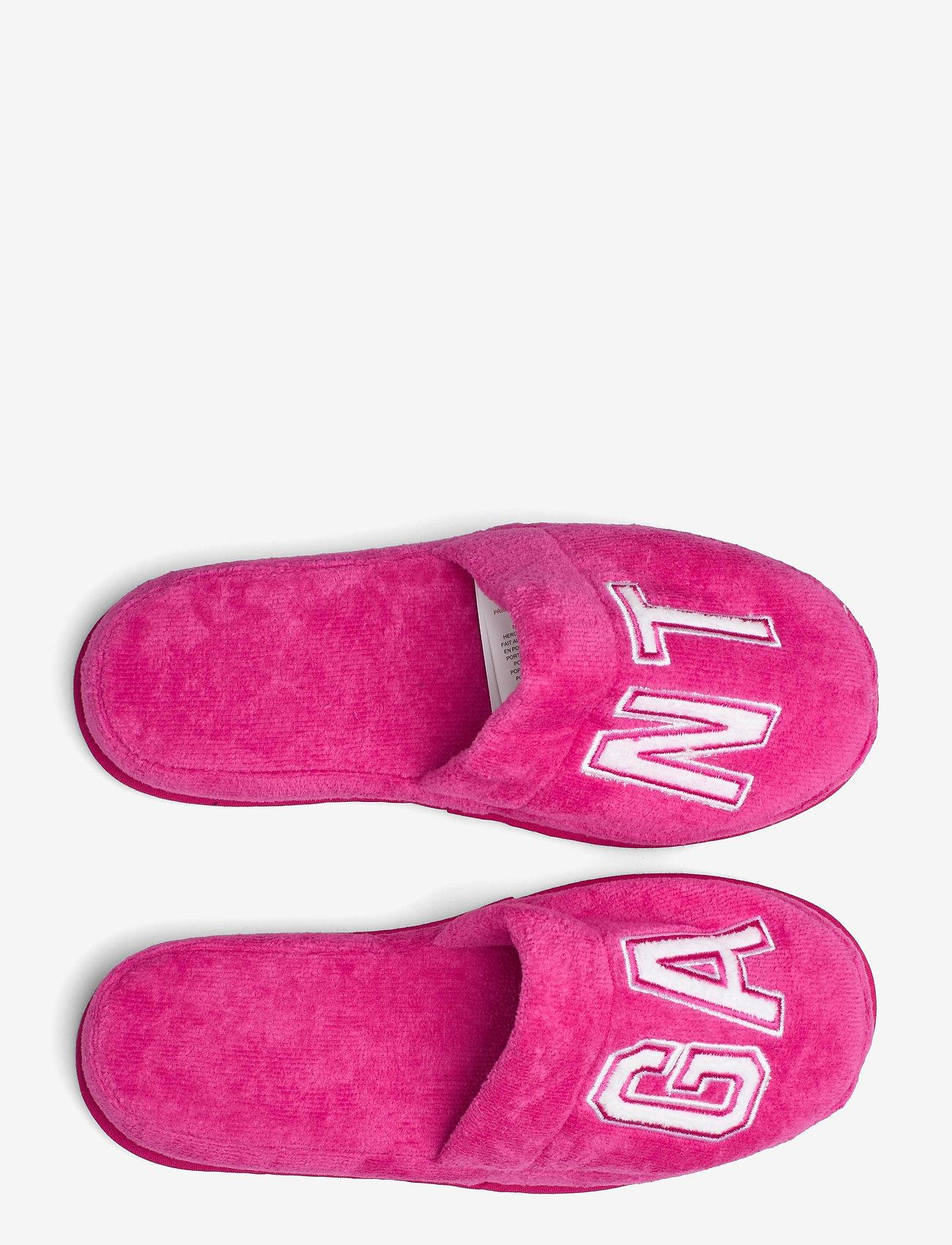 GANT - VACAY SLIPPERS - odzież - cabaret pink - 3