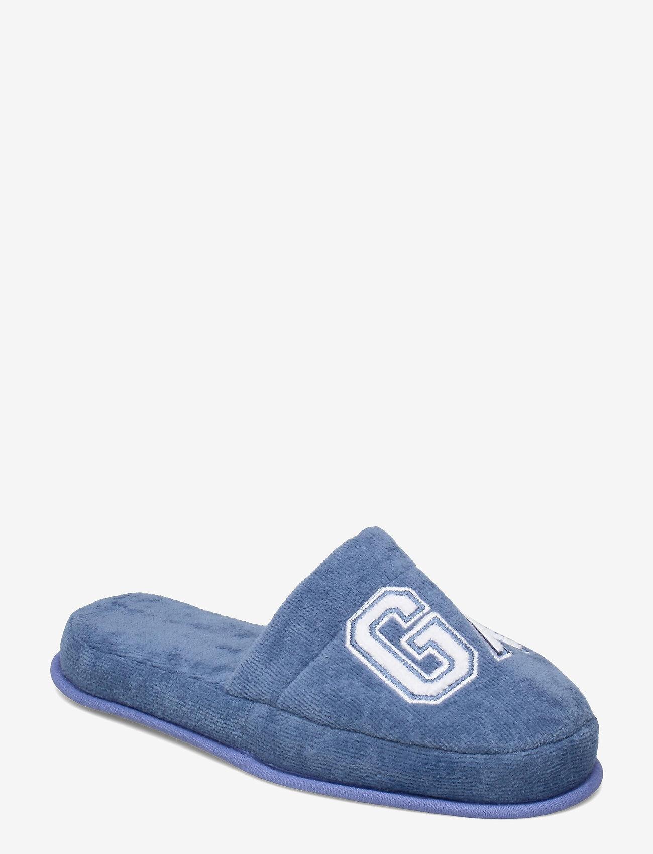 GANT - VACAY SLIPPERS - odzież - moonlight blue - 0