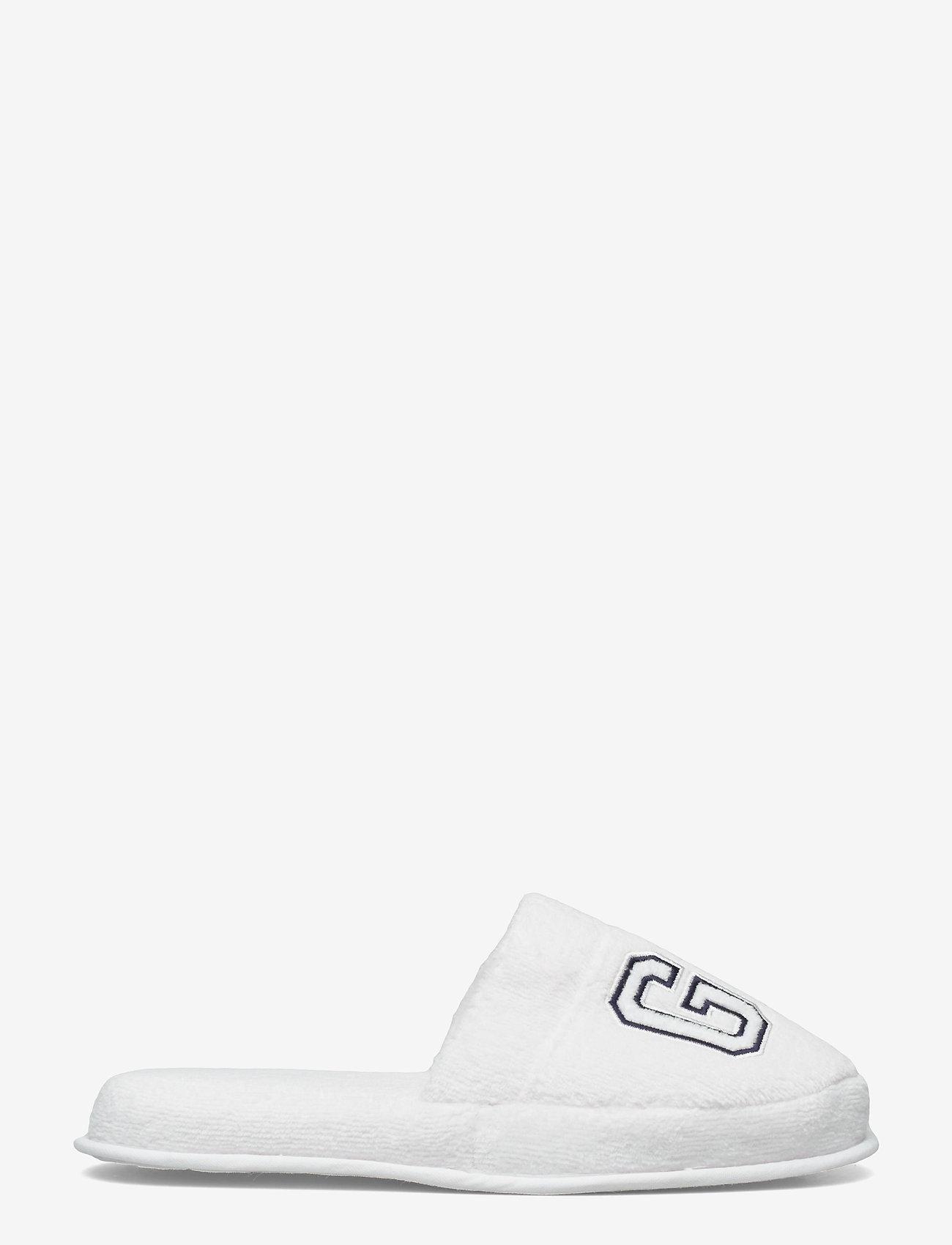 GANT - VACAY SLIPPERS - odzież - white - 0