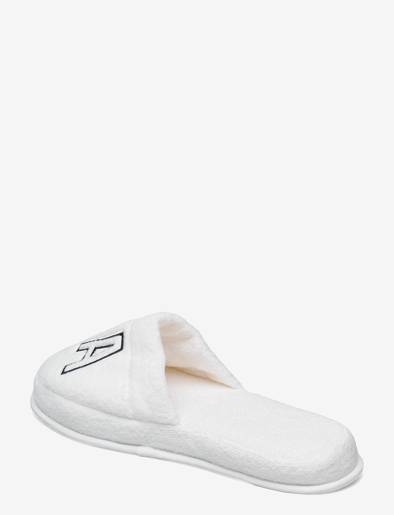GANT - VACAY SLIPPERS - odzież - white - 2
