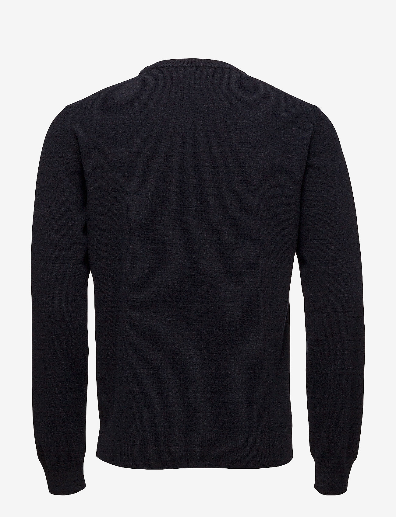 GANT - SUPERFINE LAMBSWOOL CREW - basic knitwear - marine - 1