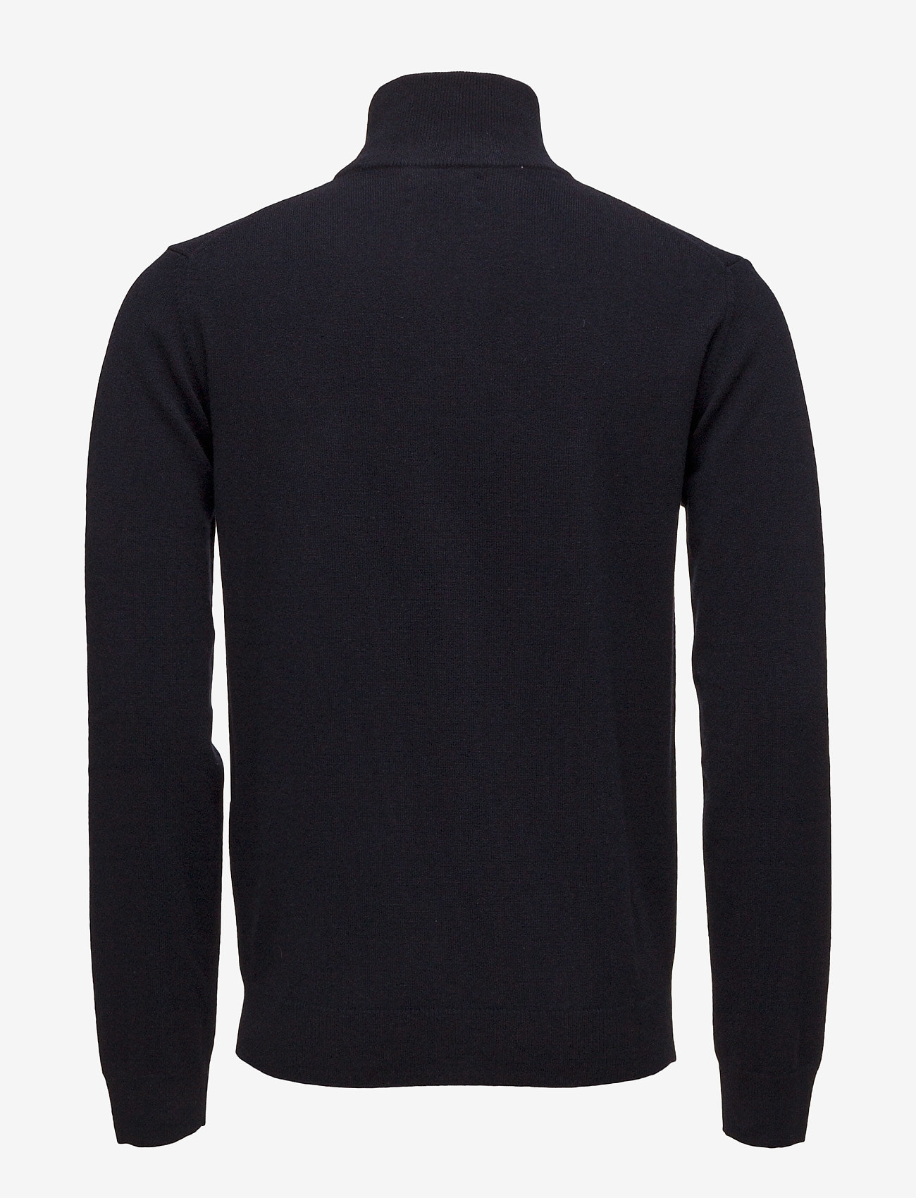 GANT - SUPERFINE LAMBSWOOL HALF ZIP - half zip jumpers - marine - 1