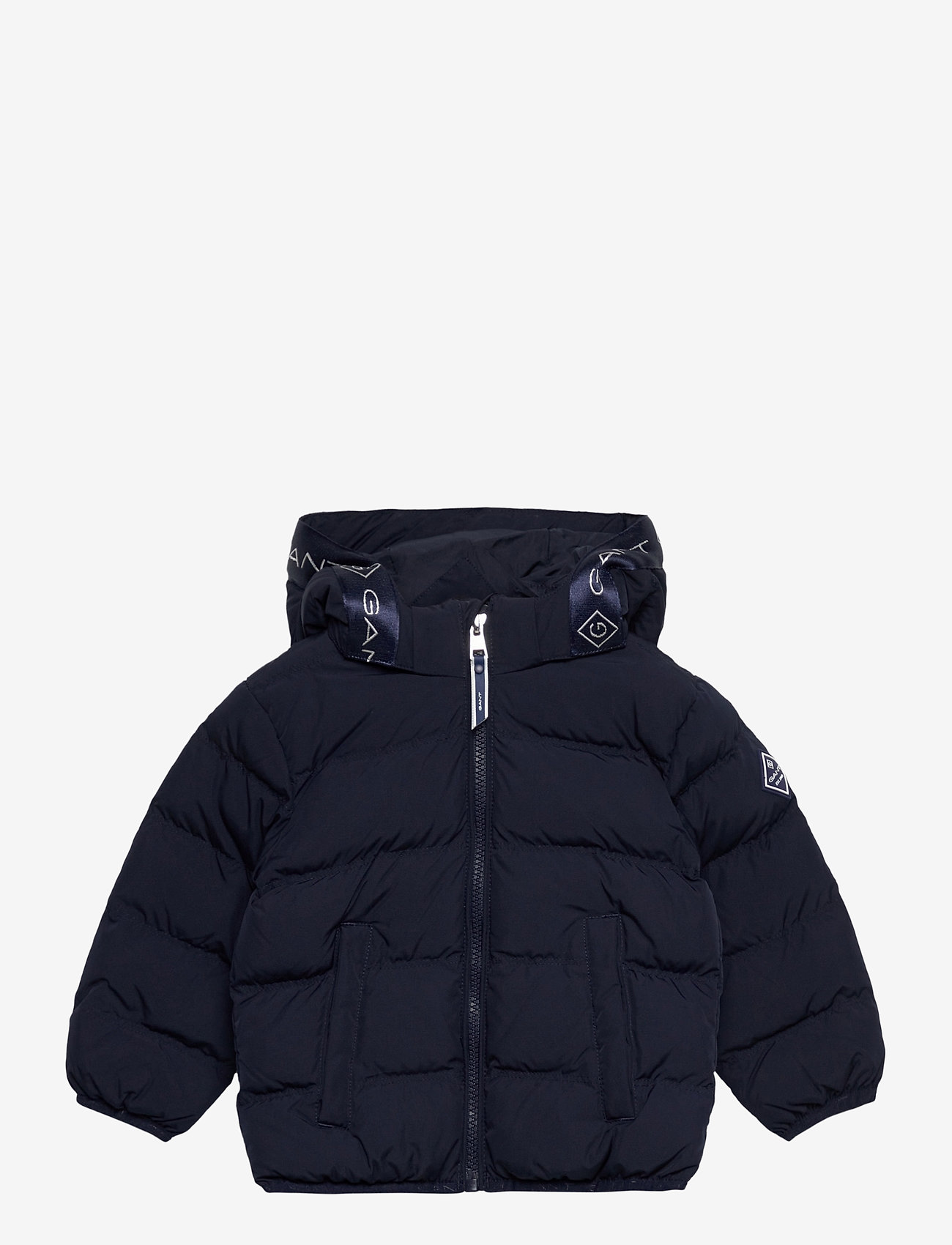 GANT - D1. LOCK-UP STRIPE PUFFER JACKET - puffer & padded - evening blue - 0