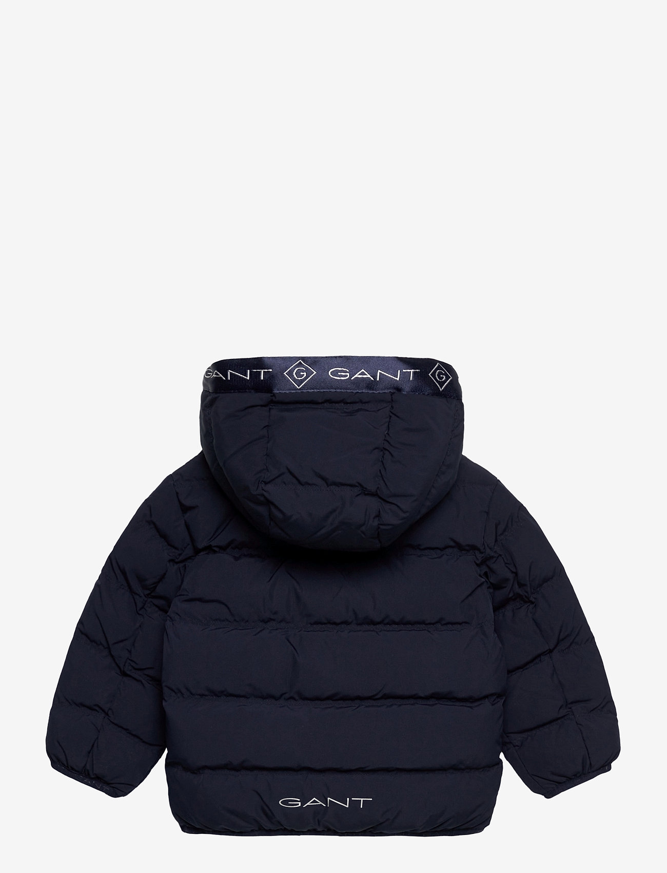 GANT - D1. LOCK-UP STRIPE PUFFER JACKET - puffer & padded - evening blue - 1