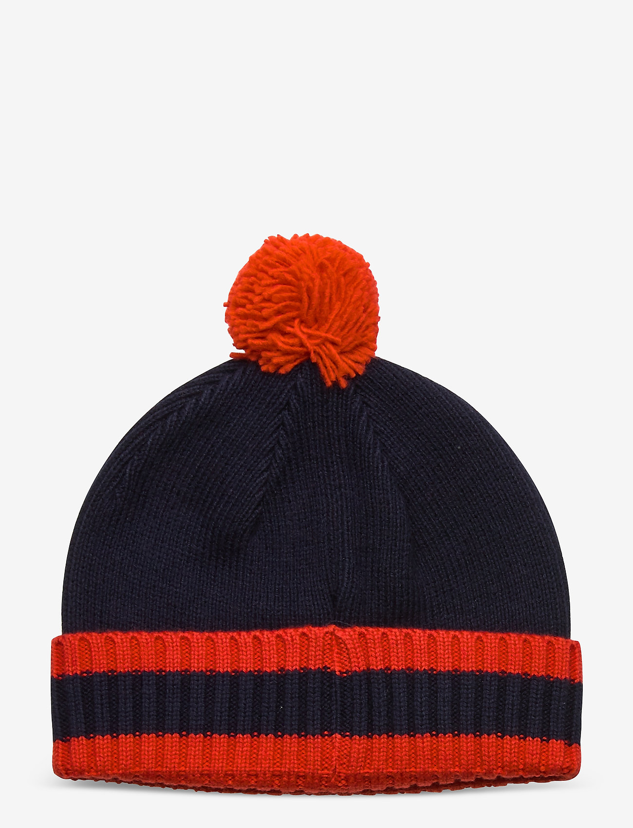 GANT - D1. VARSITY BEANIE - hats - evening blue - 1