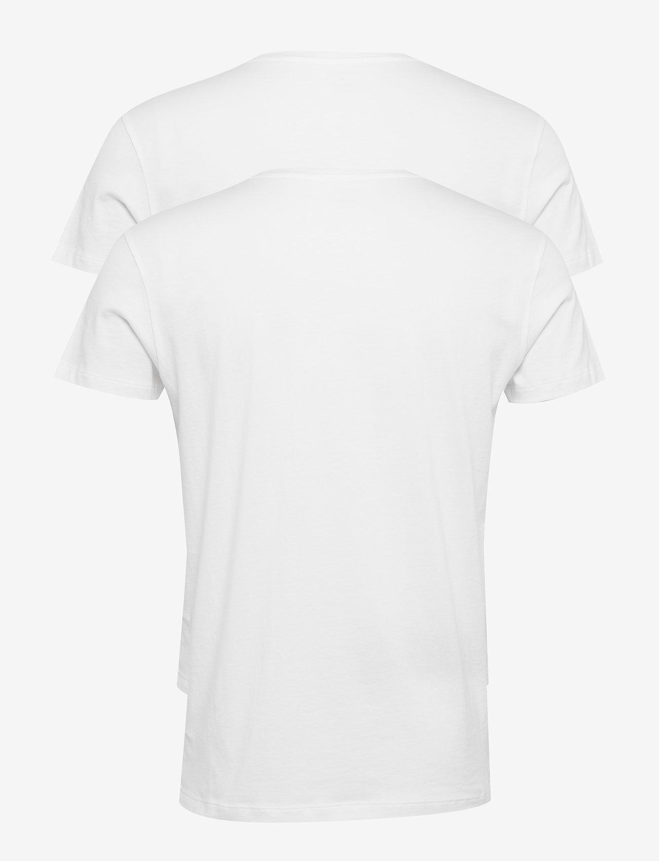 GANT - BASIC 2-PACK CREW NECK T-SHIRT - multipack - white - 1