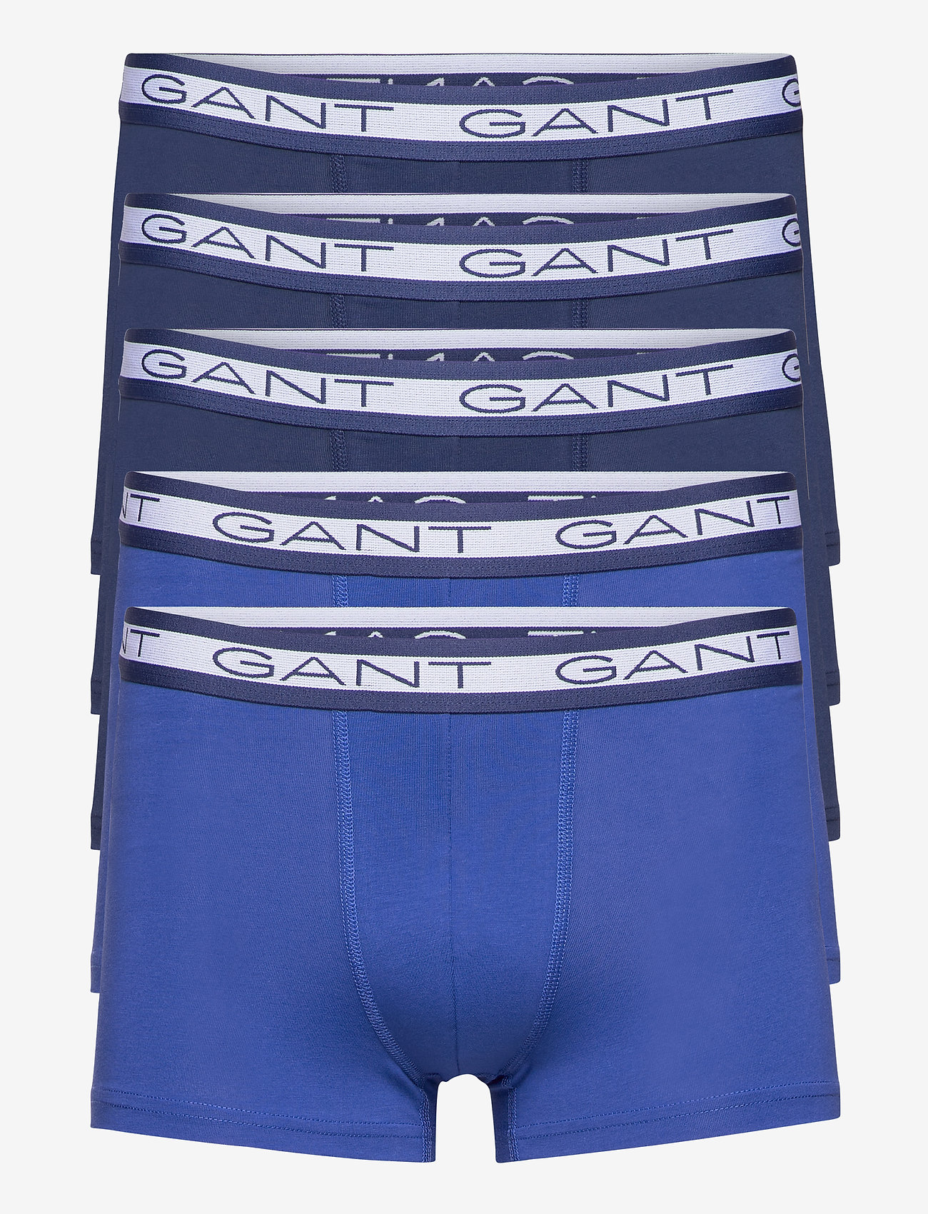 GANT - BASIC TRUNK 5-PACK - boxers - persian blue - 0
