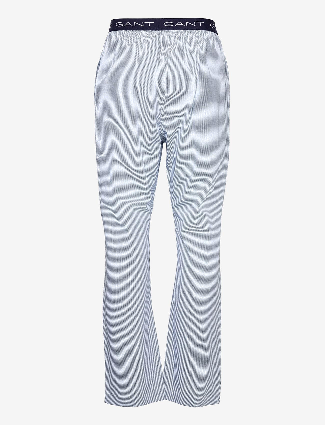 GANT - MINI GINGHAM PAJAMA PANTS - bottoms - classic blue - 1