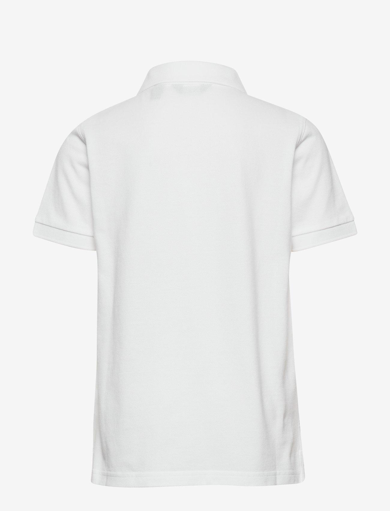 GANT - THE ORIGINAL SS PIQUE - polo shirts - white - 1