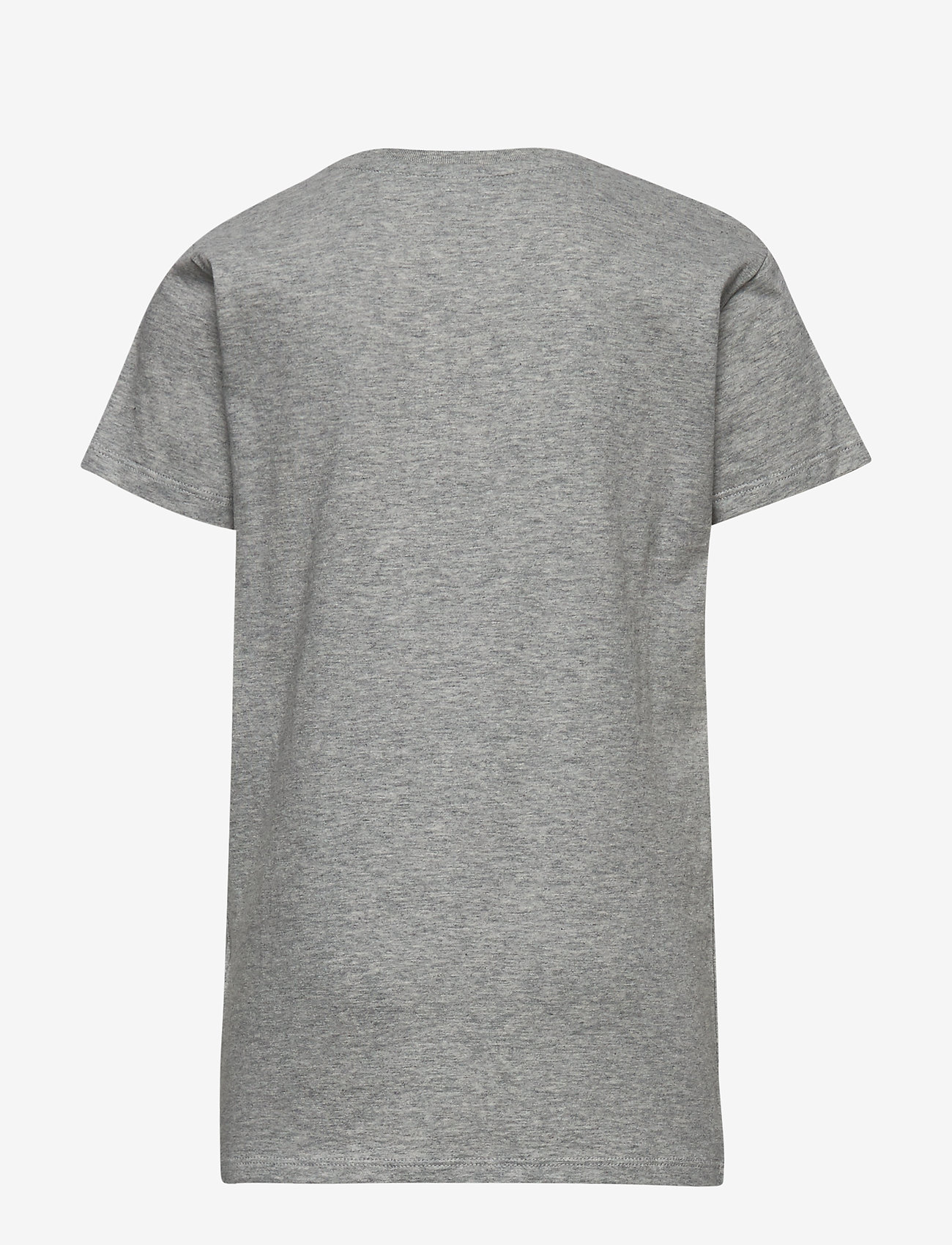 GANT - GANT SHIELD SS T-SHIRT - kurzärmelige - light grey melange - 1
