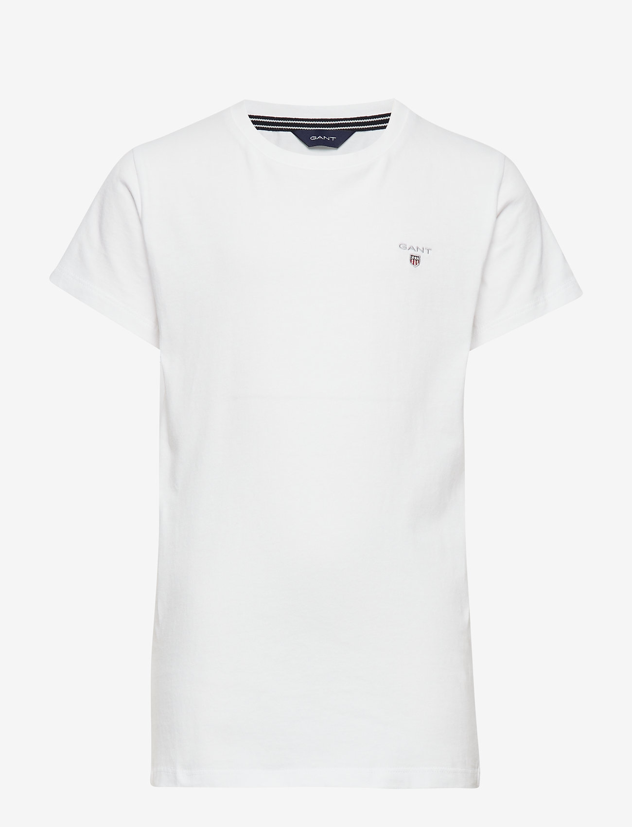 GANT - THE ORIGINAL SS T-SHIRT - kurzärmelige - white - 0