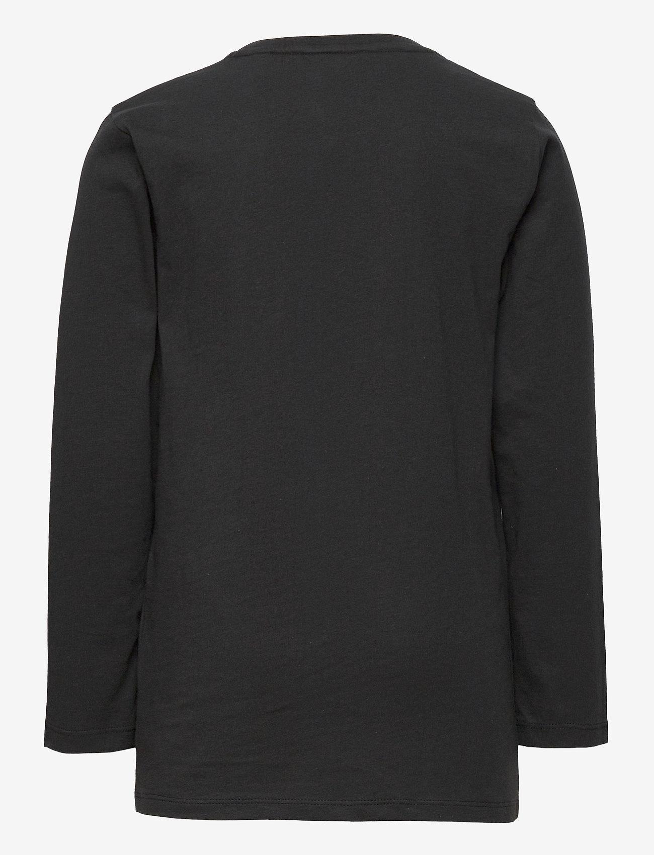 GANT - GANT LOCK-UP LS T-SHIRT - long-sleeved t-shirts - black - 1