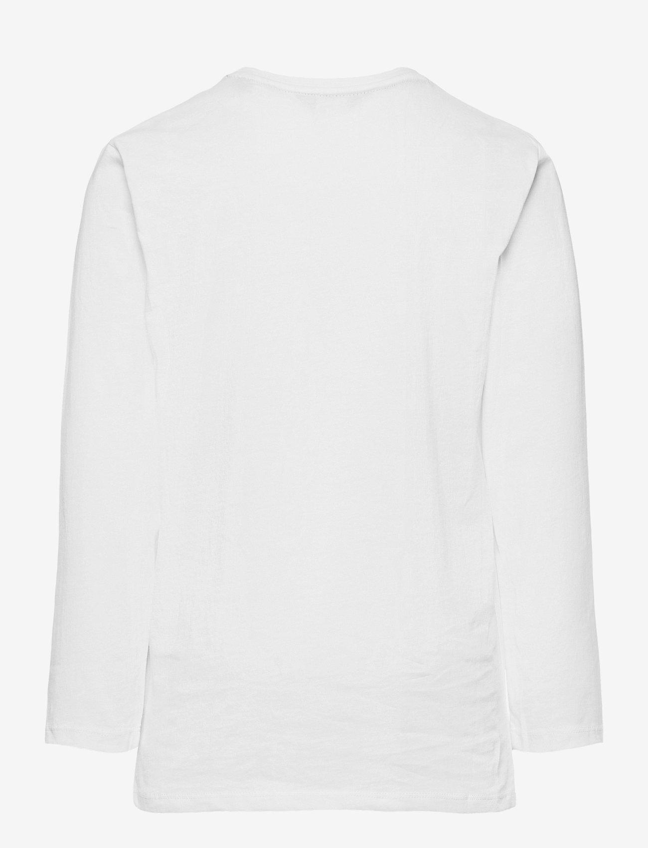 GANT - GANT LOCK-UP LS T-SHIRT - long-sleeved t-shirts - white - 1