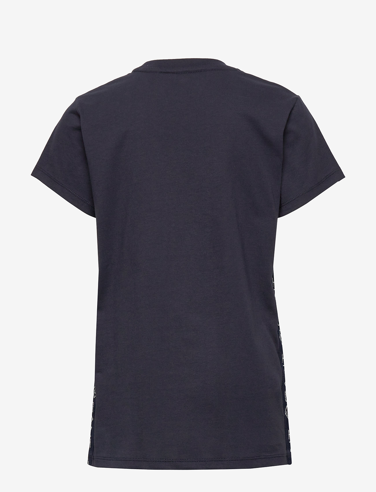 GANT - D1. LOCK UP STRIPE SS T-SHIRT - kurzärmelige - evening blue - 1