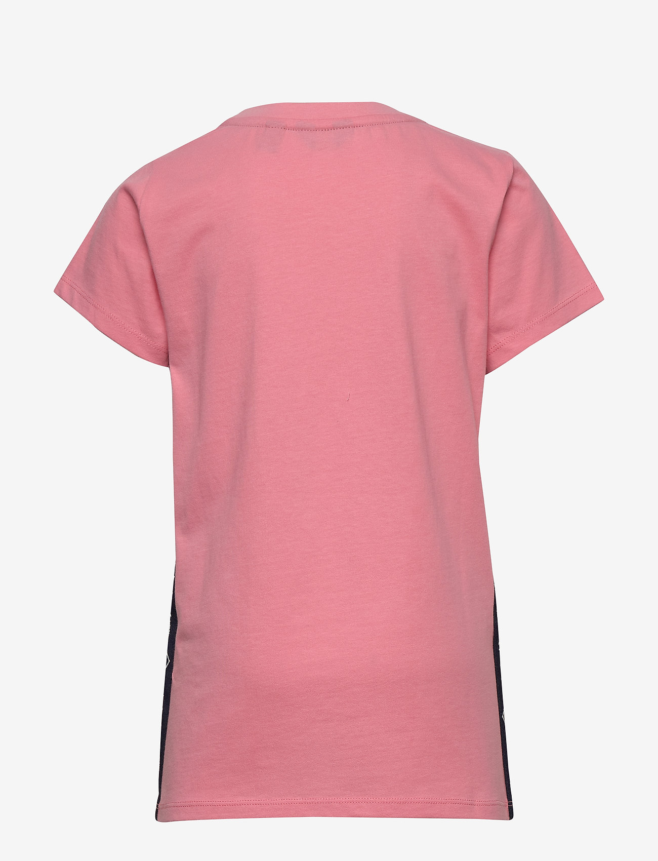 GANT - D1. LOCK UP STRIPE SS T-SHIRT - kurzärmelige - strawberry pink - 1