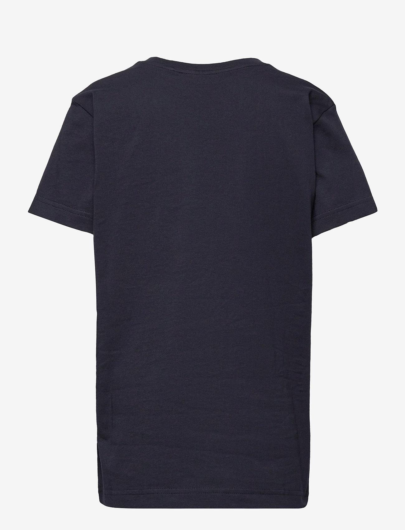 GANT - ARCHIVE SHIELD SS T-SHIRT - short-sleeved - evening blue - 1