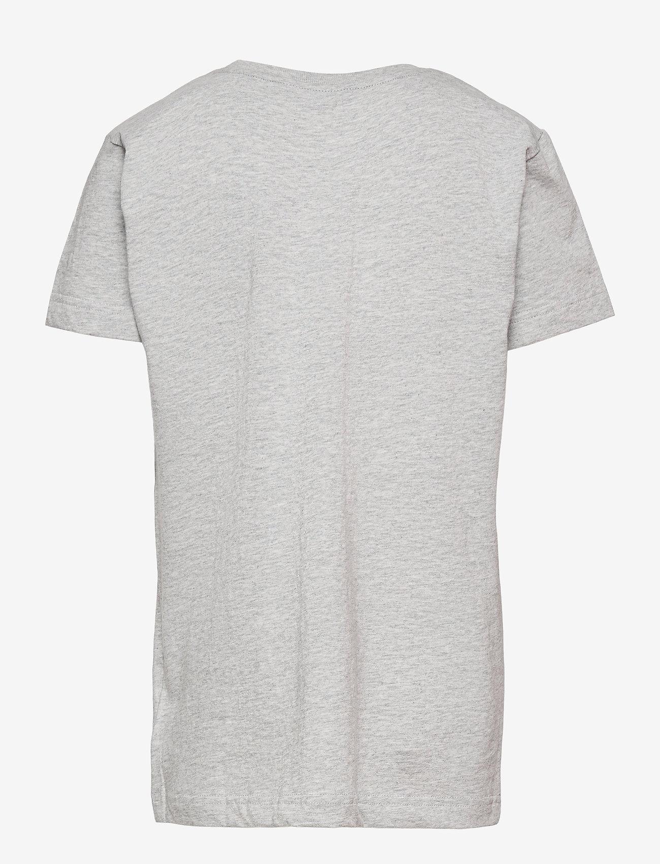 GANT - ARCHIVE SHIELD SS T-SHIRT - short-sleeved - light grey melange - 1