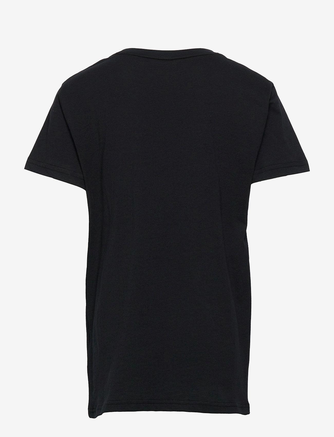 GANT - D2. SPORTY SHIELD SS T-SHIRT - short-sleeved - black - 1