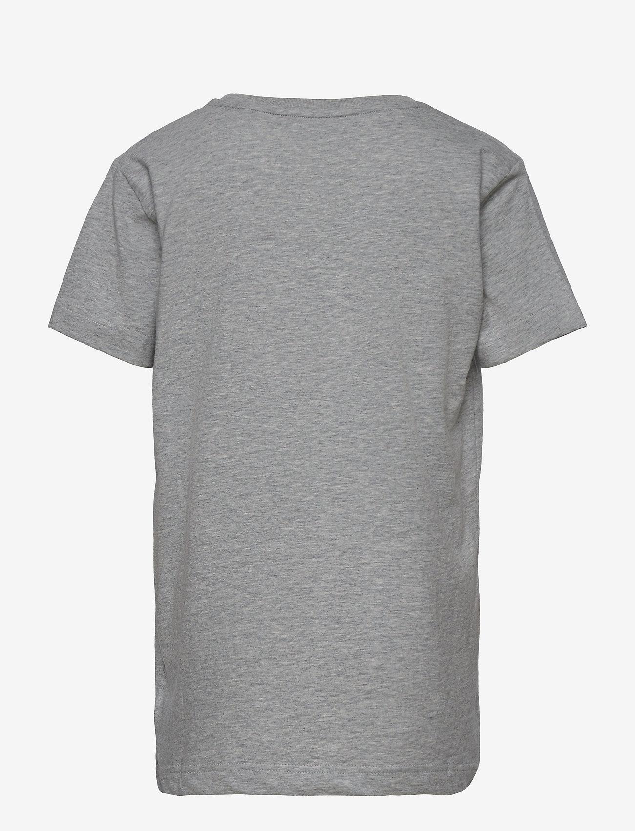 GANT - ARCHIVE SHIELD EMB SS T-SHIRT - short-sleeved - light grey melange - 1