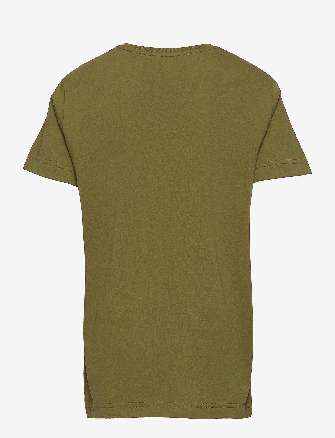 GANT - ARCHIVE SHIELD EMB SS T-SHIRT - short-sleeved - olive branch green - 1
