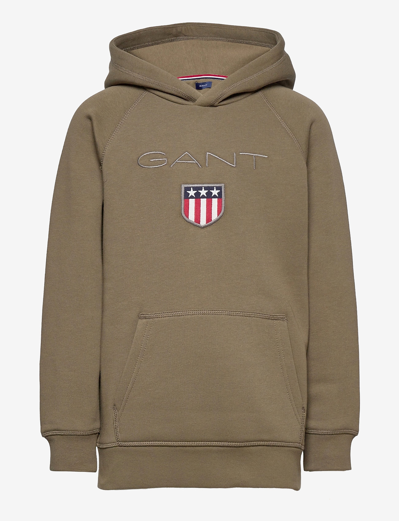 GANT - GANT SHIELD HOODIE - hoodies - sea turtle - 0