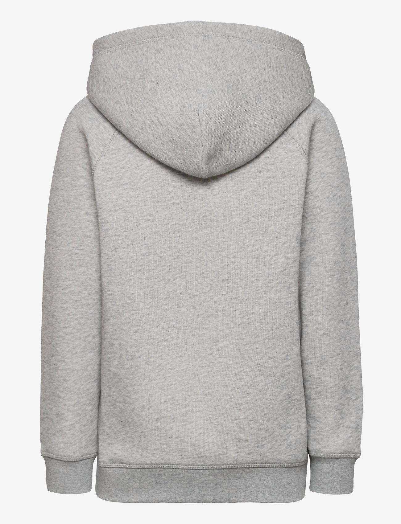 GANT - GANT LOCK-UP SWEAT HOODIE - kapuzenpullover - light grey melange - 1