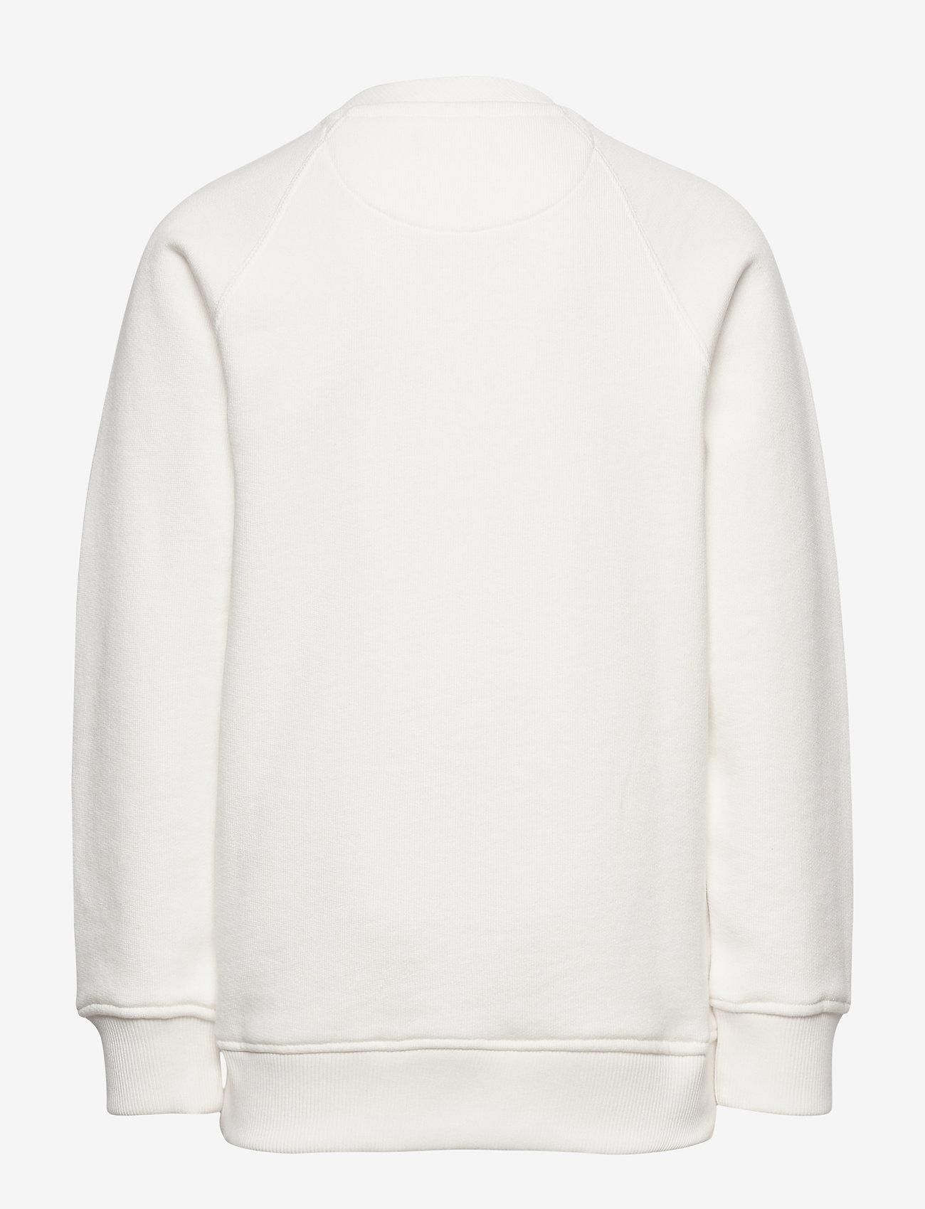 GANT - D1. GANT VARSITY C-NECK SWEAT - sweatshirts - eggshell - 1