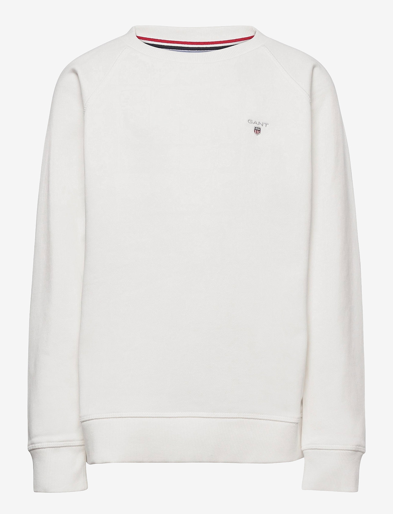 GANT - D1. THE ORIGINAL C-NECK SWEAT - sweatshirts - eggshell - 0