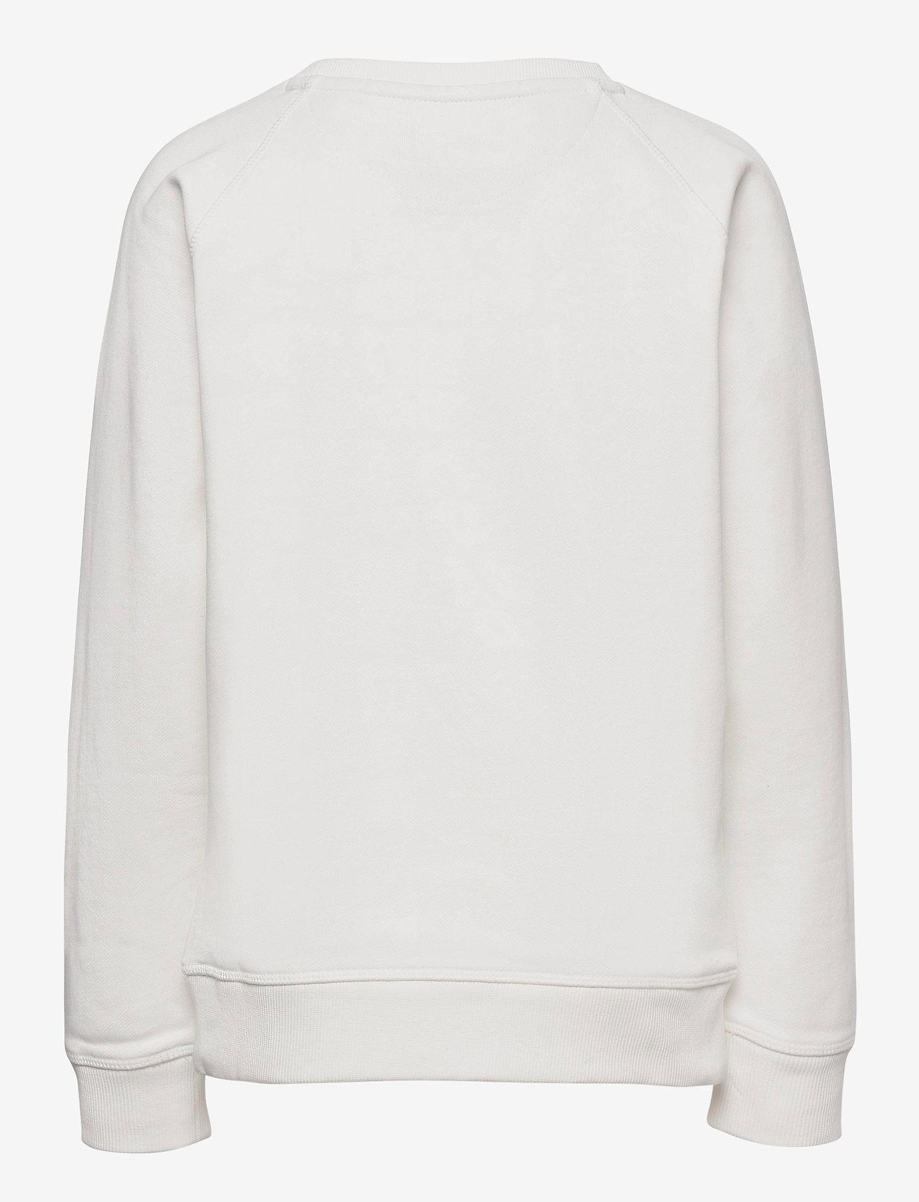 GANT - D1. THE ORIGINAL C-NECK SWEAT - sweatshirts - eggshell - 1
