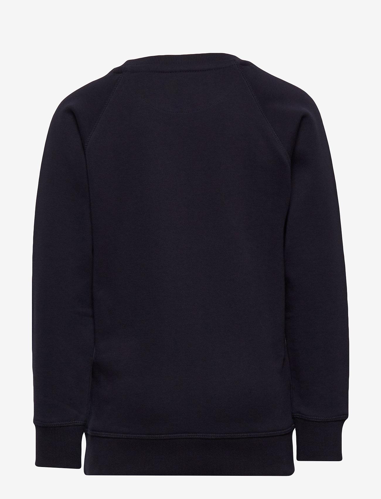 GANT - D1. THE ORIGINAL C-NECK SWEAT - sweatshirts - evening blue - 1