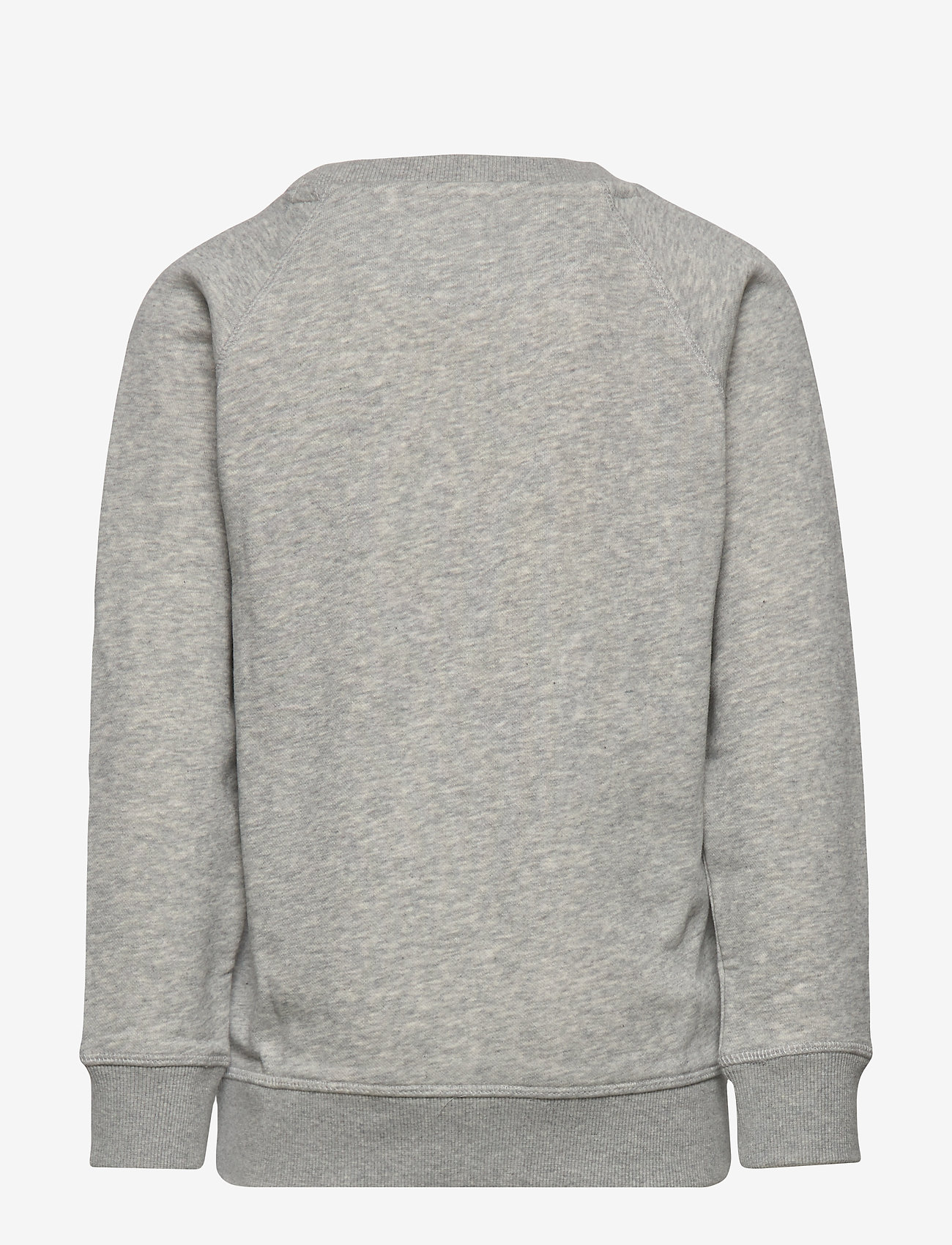 GANT - D1. THE ORIGINAL C-NECK SWEAT - sweatshirts - light grey melange - 1
