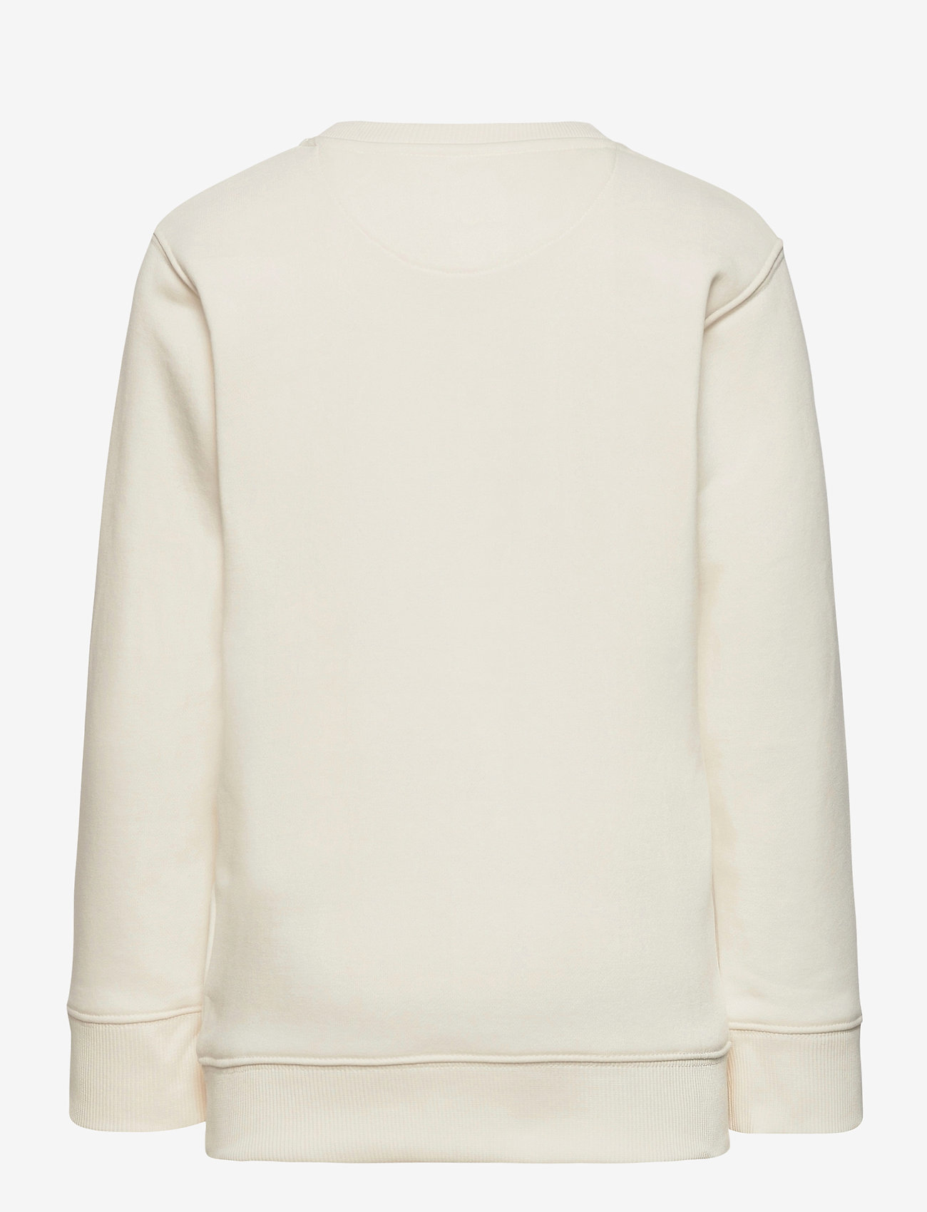 GANT - D1. MEDIUM SHIELD SWEAT C-NECK - sweatshirts - eggshell - 1