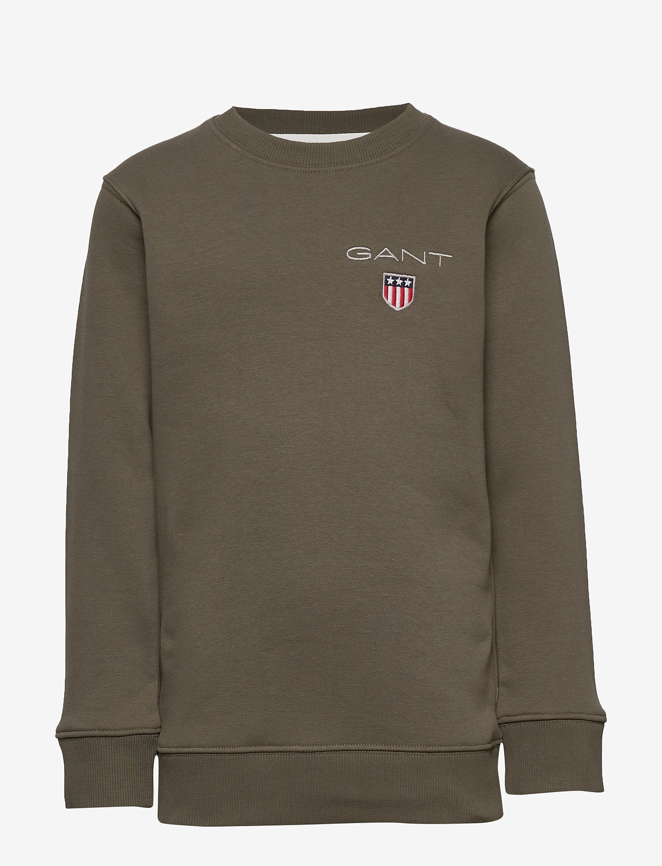 GANT - D1. MEDIUM SHIELD SWEAT C-NECK - sweatshirts - sea turtle - 0
