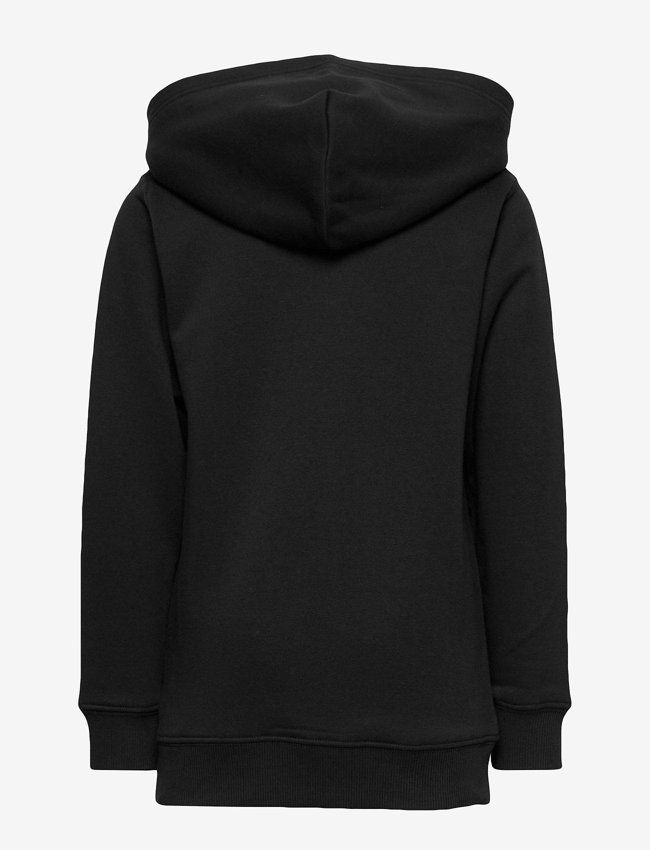 GANT - D1. MEDIUM SHIELD SWEAT HOODIE - hoodies - black - 1