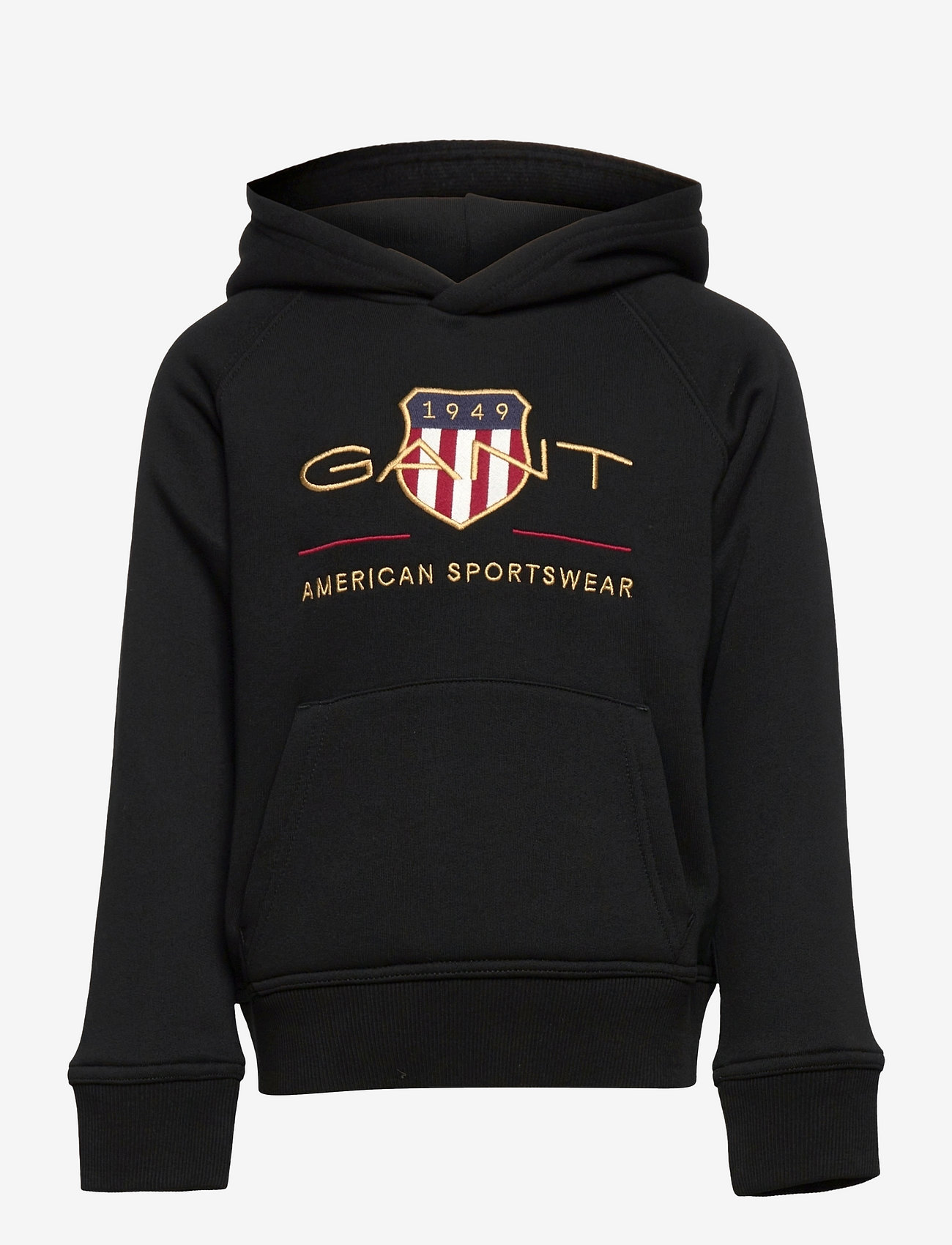 GANT - ARCHIVE SHIELD HOODIE - hoodies - black - 0