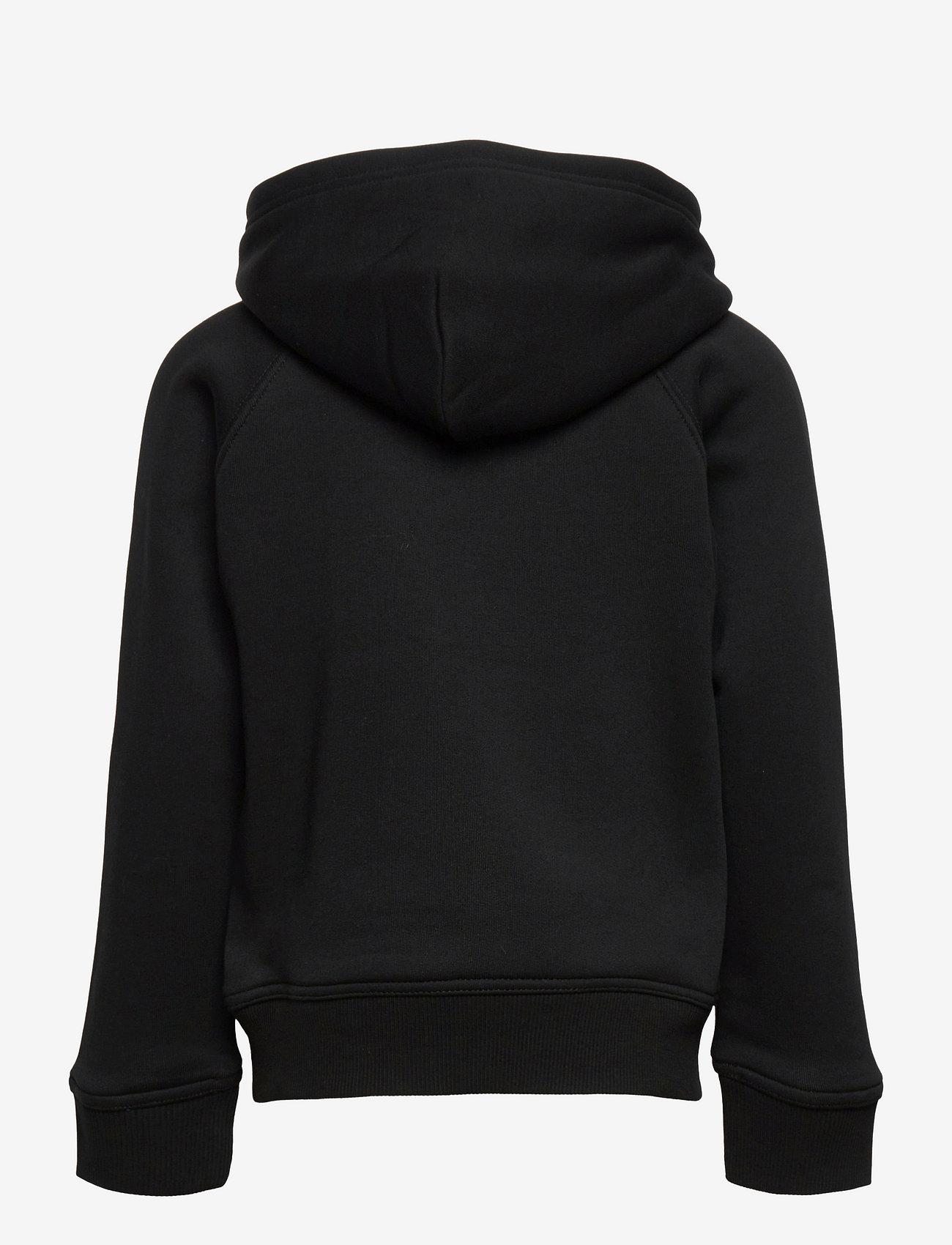 GANT - ARCHIVE SHIELD HOODIE - hoodies - black - 1