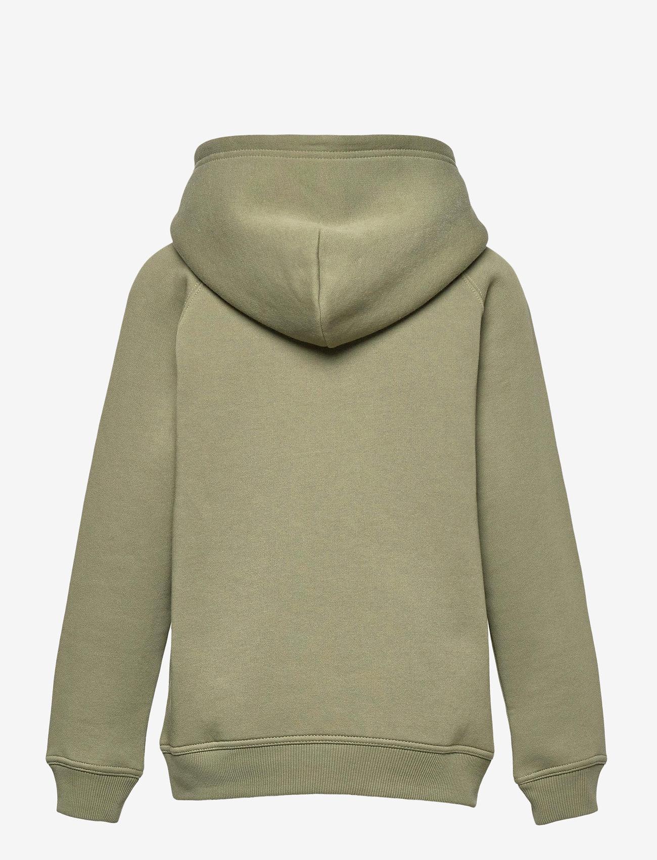 GANT - ARCHIVE SHIELD HOODIE - hoodies - four leaf clover - 1
