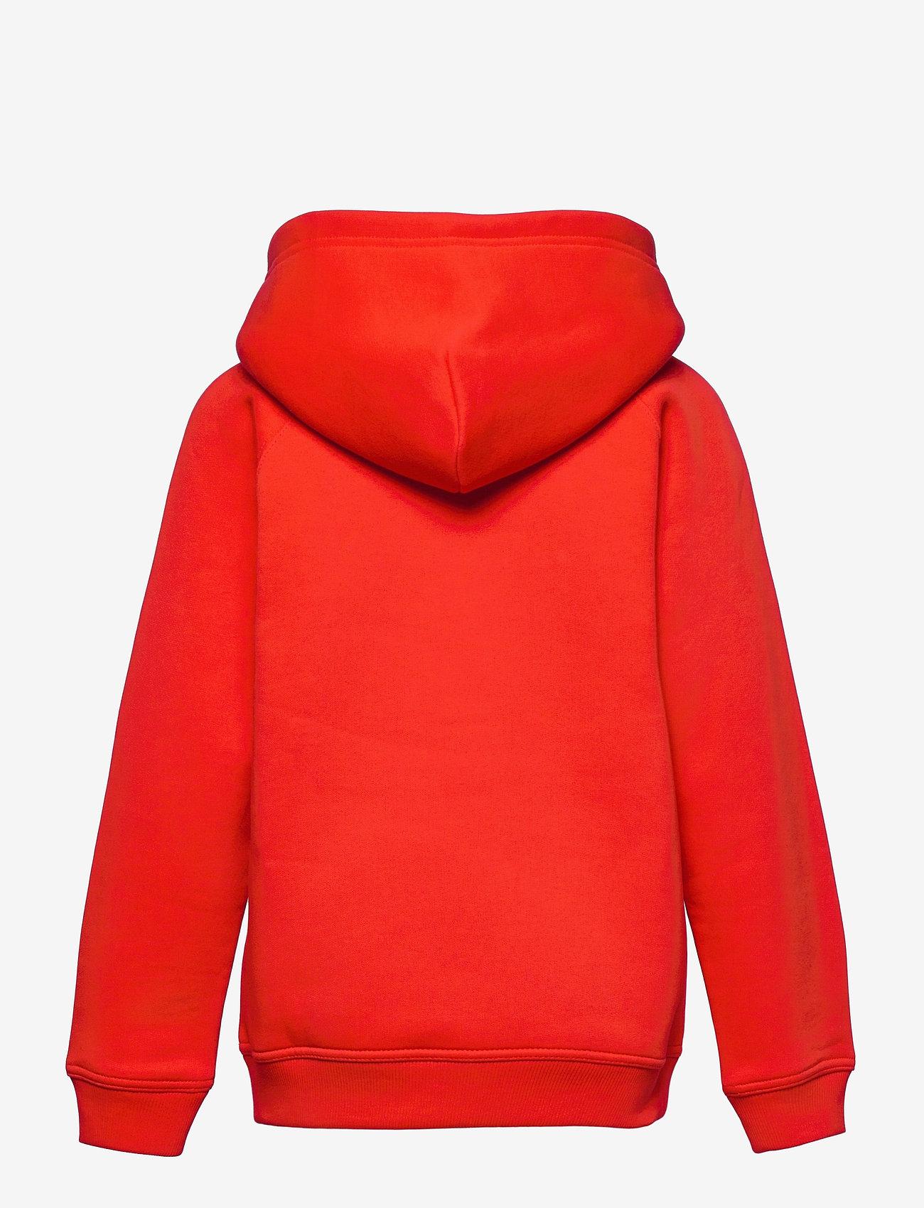 GANT - ARCHIVE SHIELD HOODIE - kapuzenpullover - lava red - 1