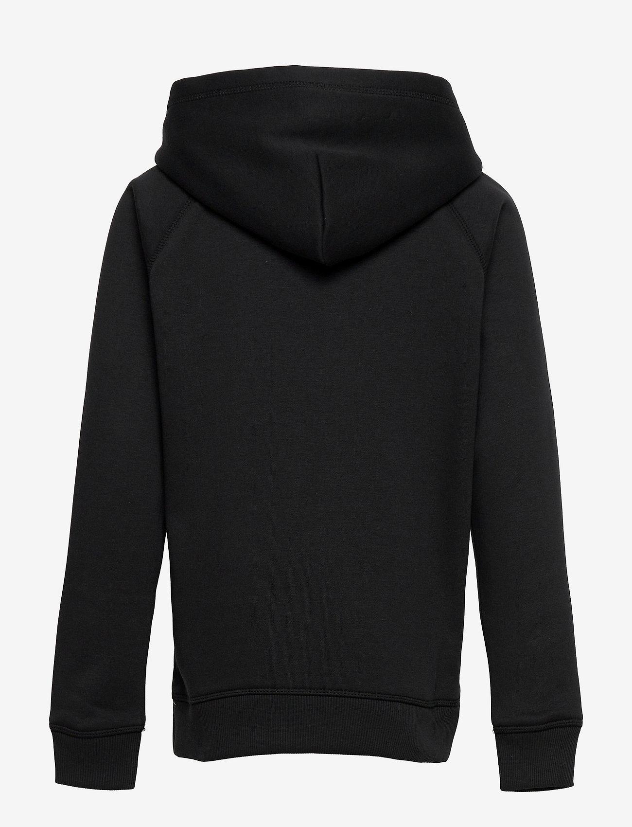 GANT - D2. SPORTY SHIELD HOODIE - hoodies - black - 1