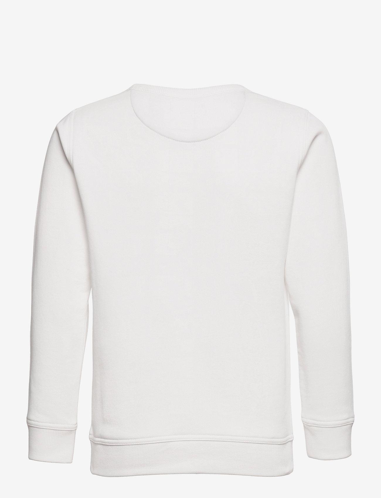 GANT - ARCHIVE SHIELD EMB C-NECK - sweatshirts - eggshell - 1