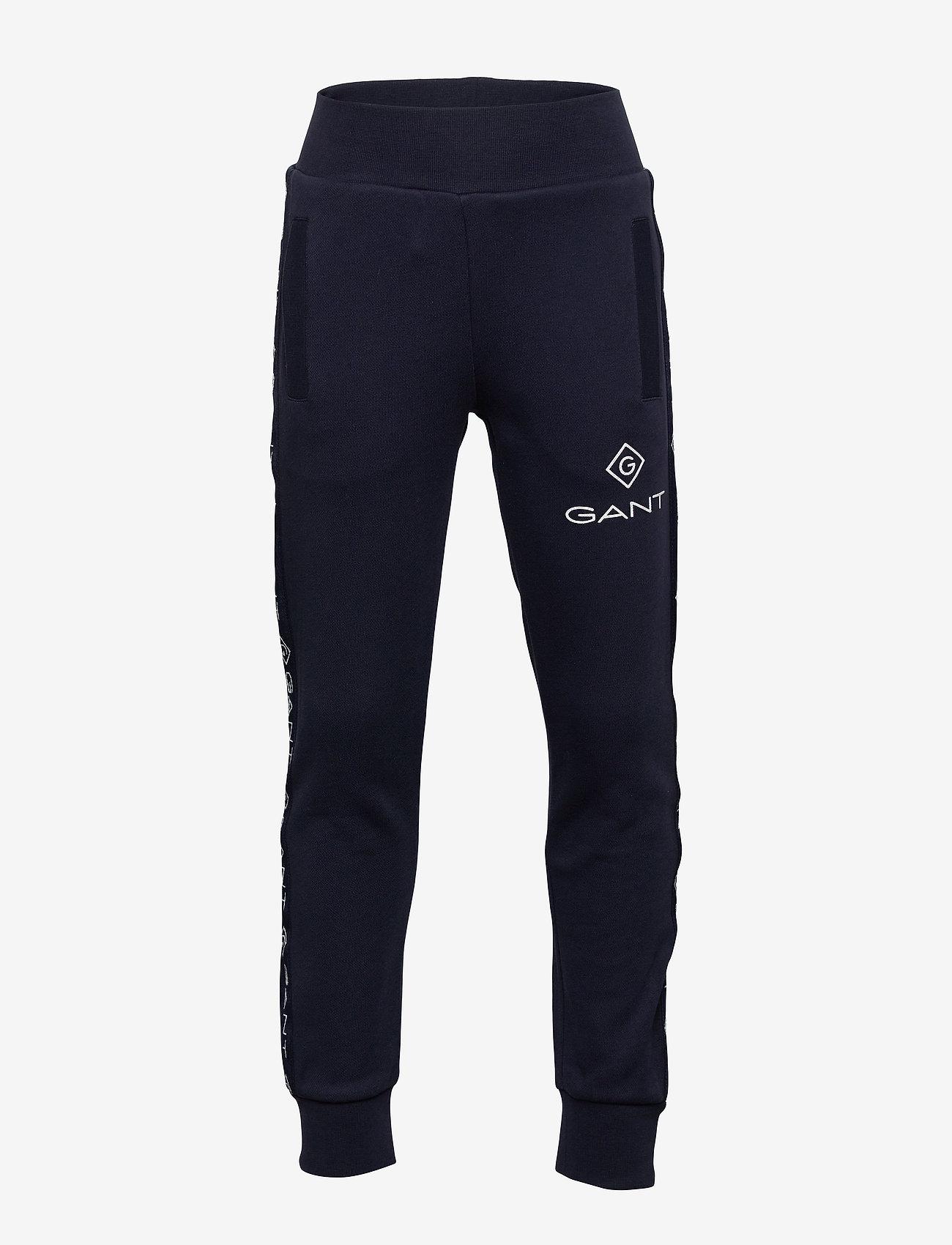 GANT - D1. LOCK UP STRIPE PANTS - jogginghosen - evening blue - 0