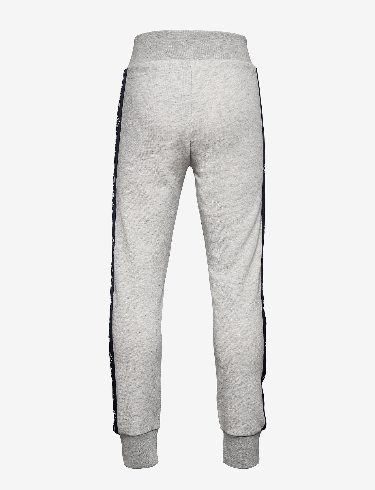GANT - D1. LOCK UP STRIPE PANTS - jogginghosen - light grey melange - 1